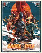 Snake Eyes x Dragon76 Poster