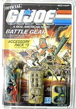 GI Joe Weapon Recondo Backpack from Battle Gear Original Figure Accessory