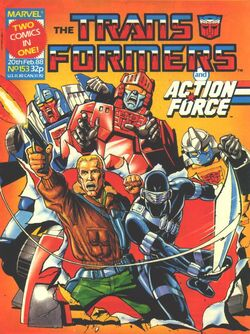 Transformers and Action Force #153.