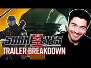 SNAKE EYES- Henry Golding Trailer Breakdown G.I
