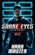 Snake Eyes characters poster 4