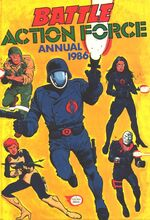 Battle Action Force 1986 Annual.