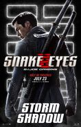 Snake Eyes characters poster 8