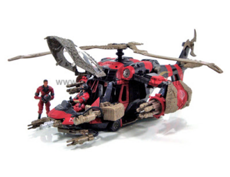 Crimson Command Copter