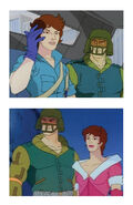 Lady Jaye and Cpt