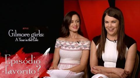 Gilmore Girls TVLine Interview (legendado)