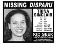 Trina Missing Poster