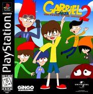Gabriel Garza 2 - The Power of Tokens PS1 Cover Art NTSC
