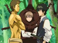 Kondou, Sougo and Hijikata Episode 65