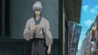 Gintoki hair tied