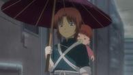 Young Kamui and Baby Kagura Episode 325