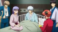 Zenzou, Sarutobi, Gintoki, Shinpachi and Kagura Episode 307