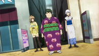 Female Sougo, Female Hijikata and Female Gintoki Episode 276