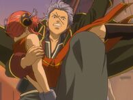 Kagura and Gintoki Episode 13