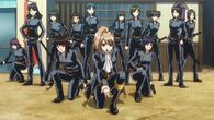 Female Sougo with members of Shinsengumi Episode 275