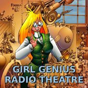 Girl Genius Radio Theatre podcast cover.