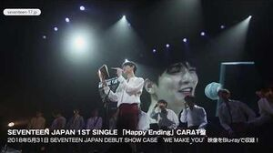 TEASER SEVENTEEN JAPAN 1ST SINGLE 'Happy Ending' CARAT盤 Blu-ray