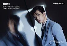 Wonwoo 2021 SEVENTEEN ONLINE CONCERT IN-COMPLETE'
