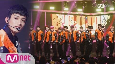 SEVENTEEN - Boom Boom KPOP TV Show M COUNTDOWN 161222 EP