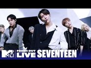 """SEVENTEEN Performs """"Ready to Love"""" 🎤 EXCLUSIVE - -MTVFreshOut"""