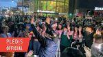 INSIDE SEVENTEEN Hoshi's Surprise Appearance in Newark Behind🐯