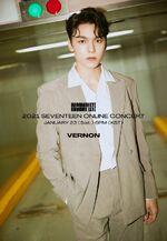 Vernon 2021 SEVENTEEN ONLINE CONCERT IN-COMPLETE'