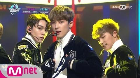 SEVENTEEN - Boom Boom KPOP TV Show M COUNTDOWN 170105 EP