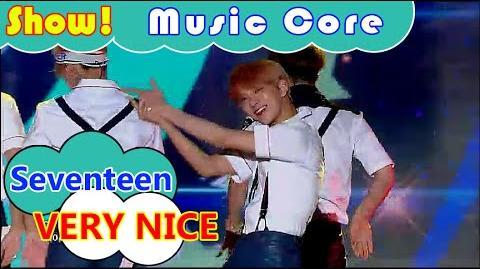 HOT Seventeen - VERY NICE, 세븐틴 - 아주 NICE Show Music core 20160730