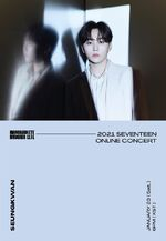 Seungkwan 2021 SEVENTEEN ONLINE CONCERT IN-COMPLETE'