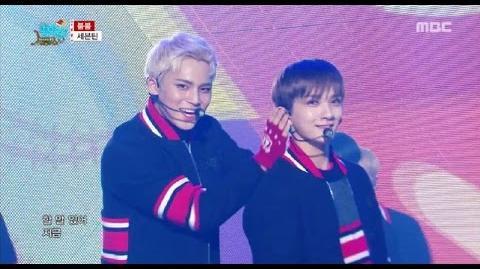 HOT Seventeen - VERY NICE + BOOMBOOM, 세븐틴 - 아주NICE + 붐붐 Show Music core 20161224