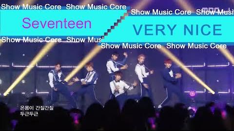 Comeback Stage Seventeen - VERY NICE, 세븐틴 - 아주 NICE Show Music core 20160709