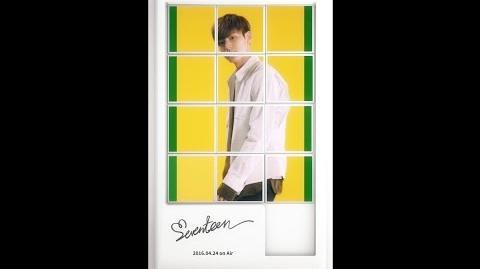 MINGYU- SEVENTEEN(세븐틴) - FIRST ALBUM LOVE&LETTER