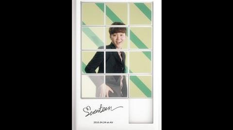 SEUNGKWAN- SEVENTEEN(세븐틴) - FIRST ALBUM LOVE&LETTER
