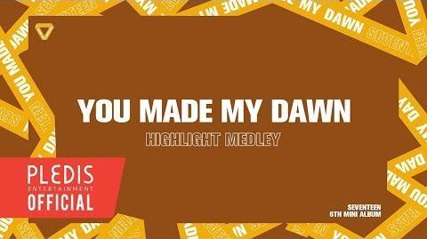 SEVENTEEN 6TH MINI ALBUM 'YOU MADE MY DAWN' HIGHLIGHT MEDLEY