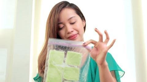 Cucumber pads:DIY