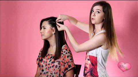 """""""How-To Waterfall Braid"""" Megan and Liz on Style"""