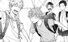 Chapter 11 page 5 panel 2 Yuki and Mafuyu holding hands