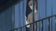 Mafuyu looking out the window (27)