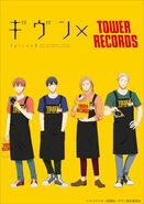 TOWERanime presents「ギヴン × TOWER RECORDS」