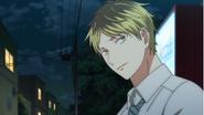 Hiiragi asking Mafuyu what his reason is for playing music Ep6
