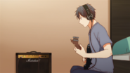 Ritsuka practising the guitar (24)
