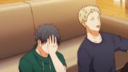 Akihiko starts laughing Ep6