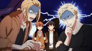 Akihiko and Haruki thinking that the situation is bad
