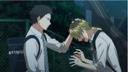 Yagi telling Hiiragi not to worry Ep6