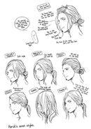 Haruki's hair manga