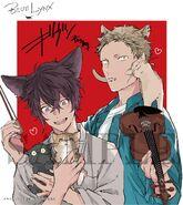 Given Blue Lynx Akihiko and Ugetsu