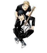 Ritsuka with Akihiko Manga Illustration