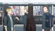 Hiiragi, Yuki & Yagi turning around