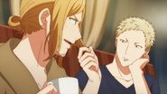 Haruki telling Akihiko that he get's it cut once a month