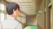 Ritsuka walking by Mafuyu's classroom (51)